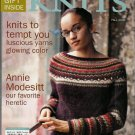 INTERWEAVE KNITS Fall 2006 Lace Cables Felting Fair Isle Knitting Patterns OOP