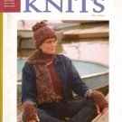 INTERWEAVE KNITS Fall 2002 Argyle Sweaters Vest Coat Arm Warmers Hat Scarf Mitts