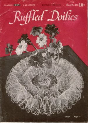 Ruffled Edgings Crochet Patterns - Vintage Knitting