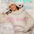VOGUE KNIT SIMPLE WINTER 2005 Hat Scarf Mittens Fair Isle Knitting Crochet Magazine