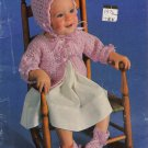 Vtg Coats and Clarks Baby Book Crochet Knitting Patterns