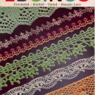 Vintage Crochet Knitting Tatting Hairpin Lace Patterns Book Edgings Pineapple