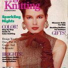 VOGUE KNITTING Holiday 1987 Fair Isle Folk Designs Kids Sweaters