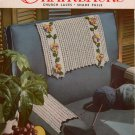 Crochet Patterns Chairbacks Star Book 105 Sets Church Laces Shade Pulls 1954