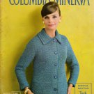 Vintage Columbia Minerva Crochet Patterns Book Dresses Evening Skirt 1960s