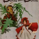 Crochet Patterns Dolls Bride Bridesmaid Jack Jill Costume Storybook 1951