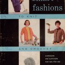 Knitting Crochet Patterns Smart Fashions Cardigan Bolero Afghans 1960s