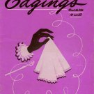 Crochet Patterns Edgings Hairpin Handkerchief Lingerie Pineapple 1947
