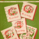 Vintage Learn How Book Crochet Knitting Tatting Embroidery Patterns 1952