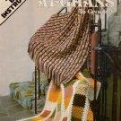 Crochet Patterns Afghans Easy Reversible Leisure Arts 130 Granny 1978