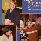 Knit Patterns Classic Raglans Toddlers Leisure Arts 155 Marion Graham 1979
