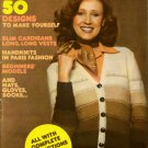 Mon Tricot MD19 Knit Crochet Patterns Sweater Vest Hat Socks Gloves 1974