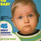 Mon Tricot MD 24 Baby Knit Crochet Patterns Tops Pants Gifts Blanket 1975