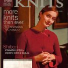 INTERWEAVE KNITS Fall 2005 Felted Satchel Capelet Socks Brioche Hat Shrug Coat