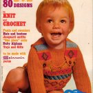 Mon Tricot Baby Edition Knit Crochet Patterns Onesie Toys Gifts Afghan 1973