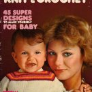 Mon Tricot MD 29 Baby Crochet Knitting Patterns Special 3-9 Months 1976