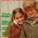 Mon Tricot MD 36 Children Knit Crochet Patterns Loom Cable Sweaters 1976