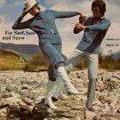 Spinnerin Knitting Crochet Patterns Dress Fringe Tunic Knickers Cape 1972