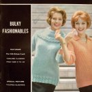 Spinnerin Knitting Patterns Bulky Fashionables Classic Sweaters 1964