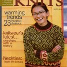 INTERWEAVE KNITS Winter 2004 Nordic Fair Isle Sweater Stocking Cap Mittens