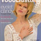VOGUE KNITTING Spring Summer 2007 Lace Dress Halter Tops Rainbow Shawl