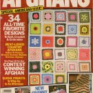 Afghans Magazine Summer 1982 34 Patterns Patriotic Americana Crochet Knit