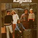 Leisure Arts 85 Seamless Raglan Sweaters Knitting Patterns 9 Mos-Sz 50 1976