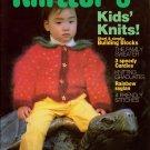 Knitters 19 Summer 1990 Children Baby Sweaters Leggings Dress Hat Socks