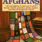 McCalls Afghans Knitting Crochet Patterns Patchwork Baby Book Vintage 1980 VTNS