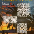 Pineapple Squares Crochet Patterns Doilies Motifs 15 Vintage Designs 1955