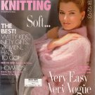 VOGUE KNITTING Winter 1992 93 Mohair Glamour Brioche Sweaters Hats Slippers