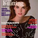 VOGUE KNITTING 1988 Nautical Sweaters Perry Ellis Zimmermann Baby Tomten