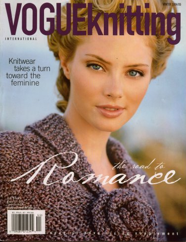 VOGUE KNITTING Winter 2004-05 Romantic Sweaters Fair Isle Stockings Bags