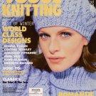 VOGUE KNITTING Winter 1996 97 Fair Isle Aran Cable Classic Sweaters Missoni VTNS