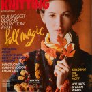 VOGUE KNITTING Fall 1993 Russian Coat Jacket Hats Aran Dress DKNY Missoni