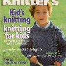 Knitters 51 Summer 1998 Kids Sweaters Puppet Hat Vest Doll Debbie Bliss