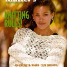 Knitters 78 Spring 2005 Lace Wrap Jacket Trapese Halter Tops Magazine