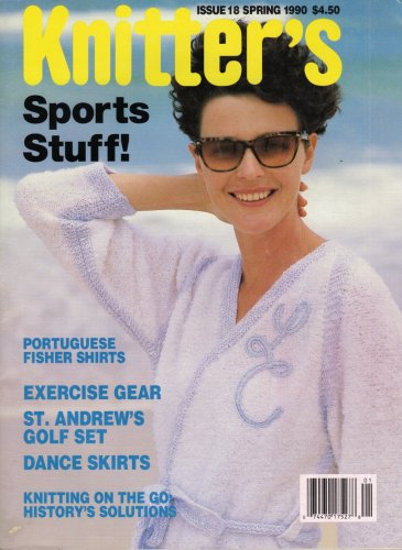 Knitters 18 Spring 1990 Sports Gear Hoodie Dance Skirt Nordic Stockings