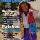 Knitters 30 Spring 1993 American Country Crazy Quilt Patterns Magazine VTNS
