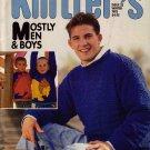Knitters 33 Winter 1993 Men Boys Dinosaurs Zodiac Guernsey Afghan Fair Isle