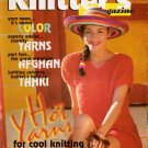 Knitters 43 Summer 1996 Tank Tops Sweaters Cardigans Twin Set Afghan