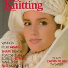 VOGUE KNITTING Fall Winter 1986 Ivory Arans Trapeze Coat Sweaters