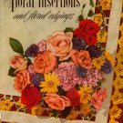 Crochet Tatting Patterns Floral Insertions Edgings Flower Rose Vintage 1949