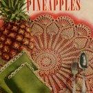 Crochet Patterns Pineapple Motifs Doily Edgings Apron Place Mats Vintage 1952
