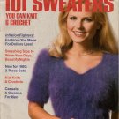 Knitting Crochet Patterns Womans Day 101 Sweaters Beach Cover Up Wraps 1980