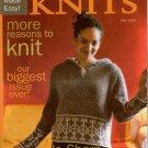 INTERWEAVE KNITS Fall 2004 Hooded Sweater Lace Shawl Skirt Felting Jo Sharp