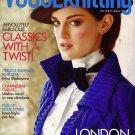 VOGUE KNITTING Fall 2010 London Classics Knee Socks Brioche Rebecca Taylor