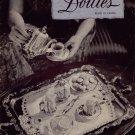 Vintage Crochet Knitting Patterns Doilies Runner Pineapple Buffet Set 1943