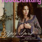 VOGUE KNITTING Fall 2005 Gypsy Sweaters Shrug Coat Shawl Embroidered Gloves