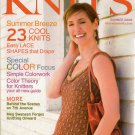 INTERWEAVE KNITS Summer 2008 Lace Tunic Scarf Hoodie Dress Knitting Patterns